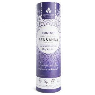 Ben & Anna, naturalny dezodorant w sztyfcie, Provence, 60 g - zdjęcie produktu