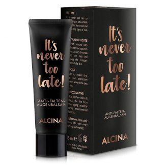 Alcina, Its never too late, balsam pod oczy, 15 ml - zdjęcie produktu