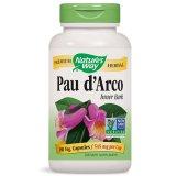 Nature's Way, Pau d'Arco Inner Bark 545 mg, 180 kapsułek - miniaturka zdjęcia produktu