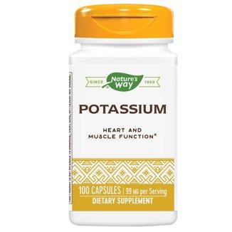 Nature's Way, Potassium Complex, potas, 100 kapsułek - zdjęcie produktu