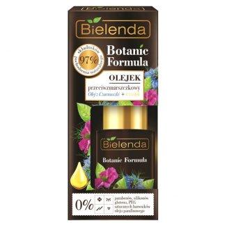 Bielenda Botanic Formula, olejek przeciwzmarszczkowy, olej z czarnuszki i czystek, 15 ml - zdjęcie produktu