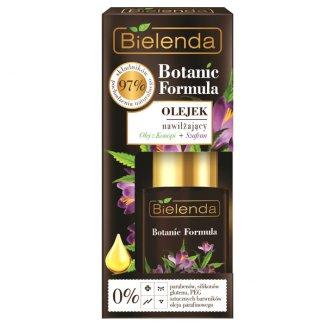 Bielenda Botanic Formula, olejek nawilżający, olej z konopi i szafran, 15 ml - zdjęcie produktu
