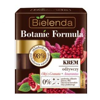 Bielenda Botanic Formula, krem odżywczy, olej z granatu i amarantus, 50 ml - zdjęcie produktu