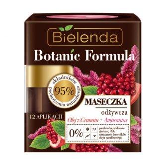 Bielenda Botanic Formula, maseczka odżywcza, olej z granatu i amarantus, 50 ml - zdjęcie produktu
