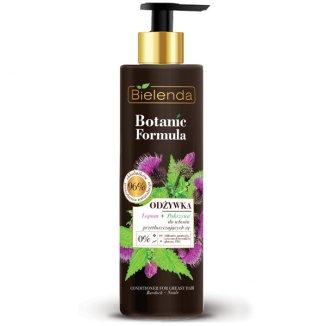 Bielenda Botanic Formula, odżywka do włosów, łopian, pokrzywa, 245 ml - zdjęcie produktu