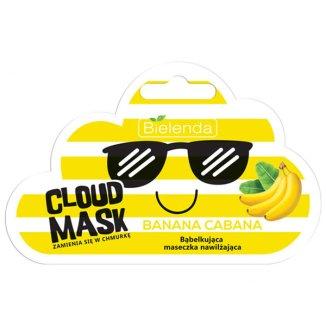 Bielenda Cloud Mask, Banana Cabana, nawilżająca maska bąbelkująca do twarzy, 6 g - zdjęcie produktu