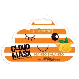 Bielenda Cloud Mask, Mango Balango, energetyzująca maska bąbelkująca do twarzy, 6 g - zdjęcie produktu