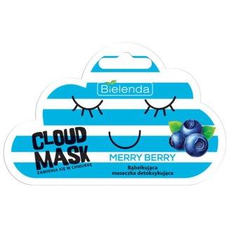 Bielenda Cloud Mask, Merry Berry, detoksykująca maska bąbelkująca do twarzy, 6 g - zdjęcie produktu