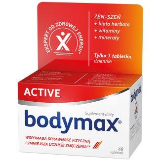 Bodymax Active, 60 tabletek - zdjęcie produktu