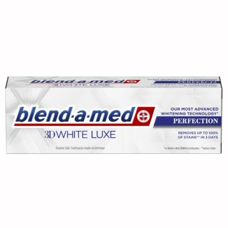 Blend-a-med, pasta do zębów 3D White Luxe, Perfection, 75 ml - zdjęcie produktu