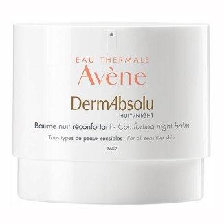 Avene DermAbsolu, krem przywracający komfort skóry, na noc, skóra wrażliwa i dojrzała, 40 ml - zdjęcie produktu