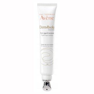 Avene DermAbsolu, odmładzający krem pod oczy, skóra wrażliwa i dojrzała, 15 ml - zdjęcie produktu