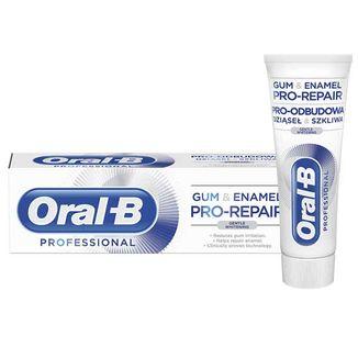 Oral-B Professional Gum & Enamel Pro-Repair, pasta do zębów, Gentle Whitening, 75 ml - zdjęcie produktu