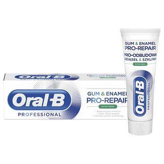 Oral-B Professional, pasta do zębów, Pro-odbudowa dziąsęł i szkliwa, Super Odświeżenie, 75 ml - zdjęcie produktu