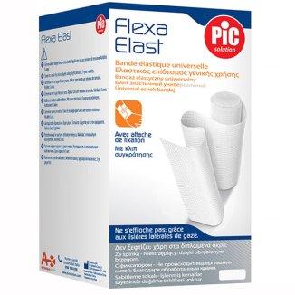 Bandaż elastyczny, PIC SOLUTION, Flexa Elast, biały, 6 cm x 4,5m, 1 sztuka - zdjęcie produktu