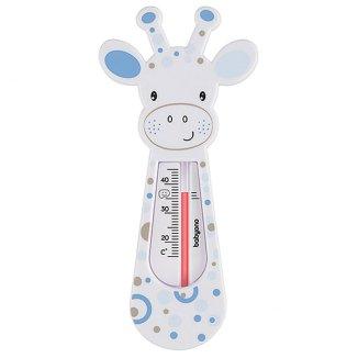 BabyOno, pływający termometr do kąpieli, żyrafa, szaro-niebieski, 1 sztuka - zdjęcie produktu