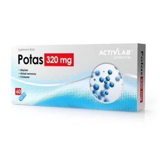 Activlab Pharma Potas 320 mg, 60 kapsułek - zdjęcie produktu