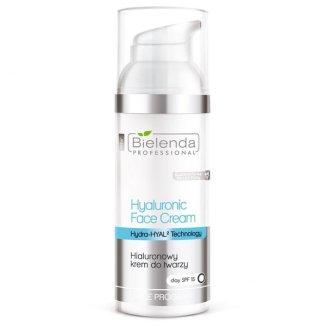 Bielenda Professional, krem hialuronowy do twarzy, SPF15, 50 ml - zdjęcie produktu