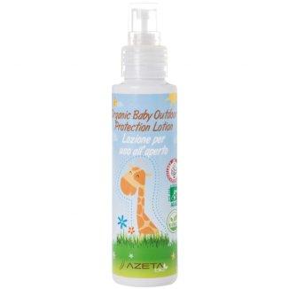 Azeta Bio, organiczne mleczko ochronne przeciw komarom i owadom latającym dla dzieci od urodzenia, 100 ml - zdjęcie produktu