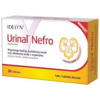 Urinal Nefro, 20 tabletek - zdjęcie produktu