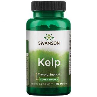 Swanson Kelp 225 µg, 250 tabletek - zdjęcie produktu