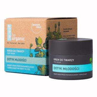 Be Organic Dotyk Młodości, przeciwzmarszczkowy krem nawilżający, na dzień i na noc, 50 ml - zdjęcie produktu