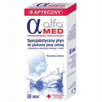 Alfa Med, płyn do płukania jamy ustnej, 50 ml - zdjęcie produktu