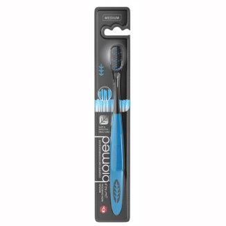 Biomed Black, szczoteczka do zębów, średnio twarda, 1 sztuka - zdjęcie produktu
