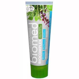 Biomed Biocomplex, pasta do zębów odświeżająca, bez fluoru, 100 g - zdjęcie produktu