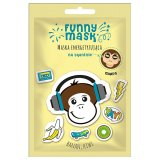 Marion Funny Mask, maska energetyzująca do twarzy na tkaninie, Małpa, 1 sztuka KRÓTKA DATA - miniaturka zdjęcia produktu