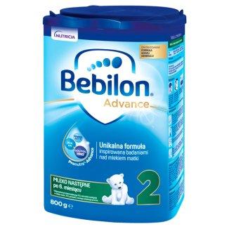 Bebilon 2 z Pronutra Advance, mleko następne, po 6 miesiącu, 800 g - zdjęcie produktu