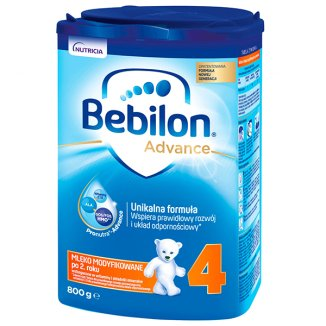 Bebilon 4 z Pronutra Advance, mleko modyfikowane po 2 roku, 800 g - zdjęcie produktu