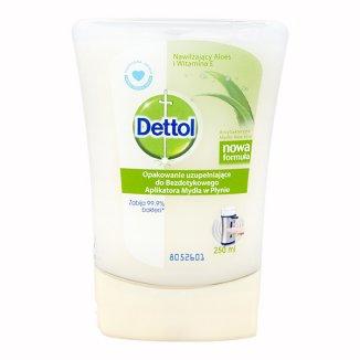Dettol, opakowanie uzupełniające do bezdotykowego aplikatora mydła w płynie, aloes i witamina E, 250 ml - zdjęcie produktu