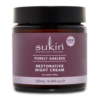 Sukin, Purely Ageless, krem regenerujący na noc, 120 ml - zdjęcie produktu