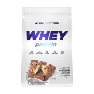 Allnutrition Whey Protein, smak czekoladowo-nugatowo-karmelowy, 2270 g - zdjęcie produktu