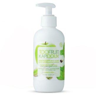 Toofruit, szampon Dermo-kojący dla dzieci, zielone jabłko i migdały, 200 ml - zdjęcie produktu