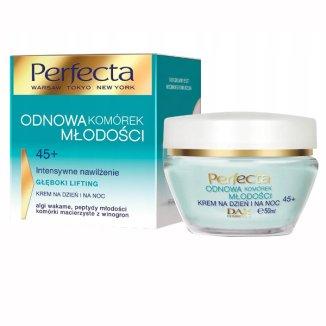 DAX Perfecta Odnowa Komórek Młodości 45 +, krem na dzień i na noc, 50 ml - zdjęcie produktu