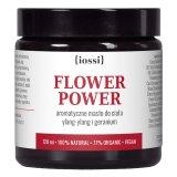 Iossi, Flower Power, masło do ciała aromatyczne, ylang-yland i geranium, 120 ml - miniaturka zdjęcia produktu