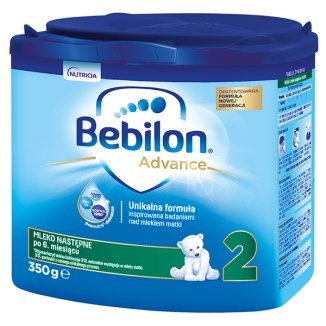 Bebilon 2 z Pronutra Advance, mleko następne, po 6 miesiącu, 350 g - zdjęcie produktu