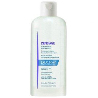 Ducray Densiage, szampon poprawiający gęstość, włosy cienkie i łamliwe, 200 ml - zdjęcie produktu
