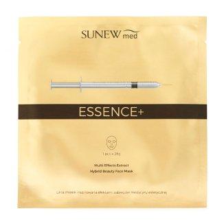 SunewMed Essence +, maska hybrydowa na tkaninie z peptydami i śluzem ślimaka, 1 sztuka - zdjęcie produktu