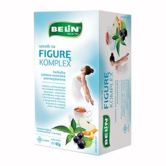 Belin Sposób na figurę komplex, herbatka ziołowo-owocowa, aromatyzowana, 2 g x 20 saszetek na figurę, BELIN, 20 saszetek - zdjęcie produktu
