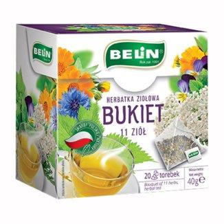 Belin Bukiet 11 ziół, herbatka ziołowa, 2 g x 20 saszetek - zdjęcie produktu