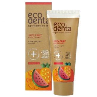 Ecodenta, pasta do zębów dla dzieci, owocowa, 75 ml - zdjęcie produktu