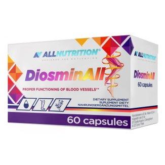 Allnutrition DiosminALL, diosmina + hesperydyna, 60 kapsułek - zdjęcie produktu