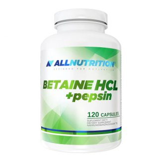 Allnutrition Betaine HCl + pepsin, 120 kapsułek - zdjęcie produktu