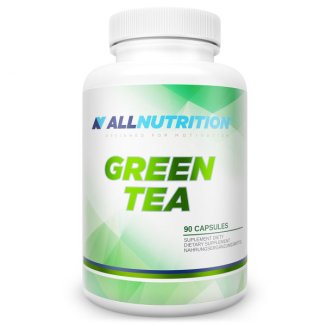 Allnutrition, Green tea, zielona herbata 90 kapsułek - zdjęcie produktu