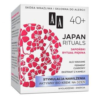 AA Japan Rituals, krem na dzień, stymulacja nawilżenia 40 +, 50 ml - zdjęcie produktu