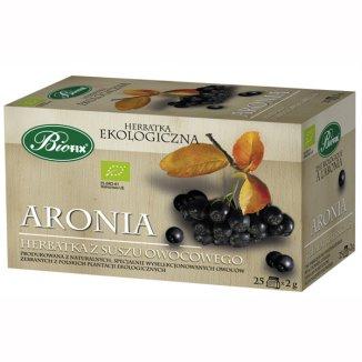 Bi Fix, Aronia, herbatka ekologiczna, 25 saszetek - zdjęcie produktu
