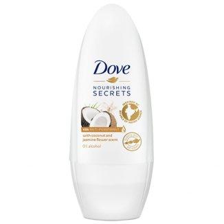 Dove Nourishing Secrets, antyperspirant roll-on, Coconut and Jasmine Flower, 50 ml - zdjęcie produktu